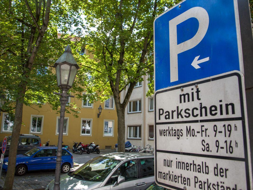 Parkplätze in der Sterngasse. Foto: Pascal Höfig