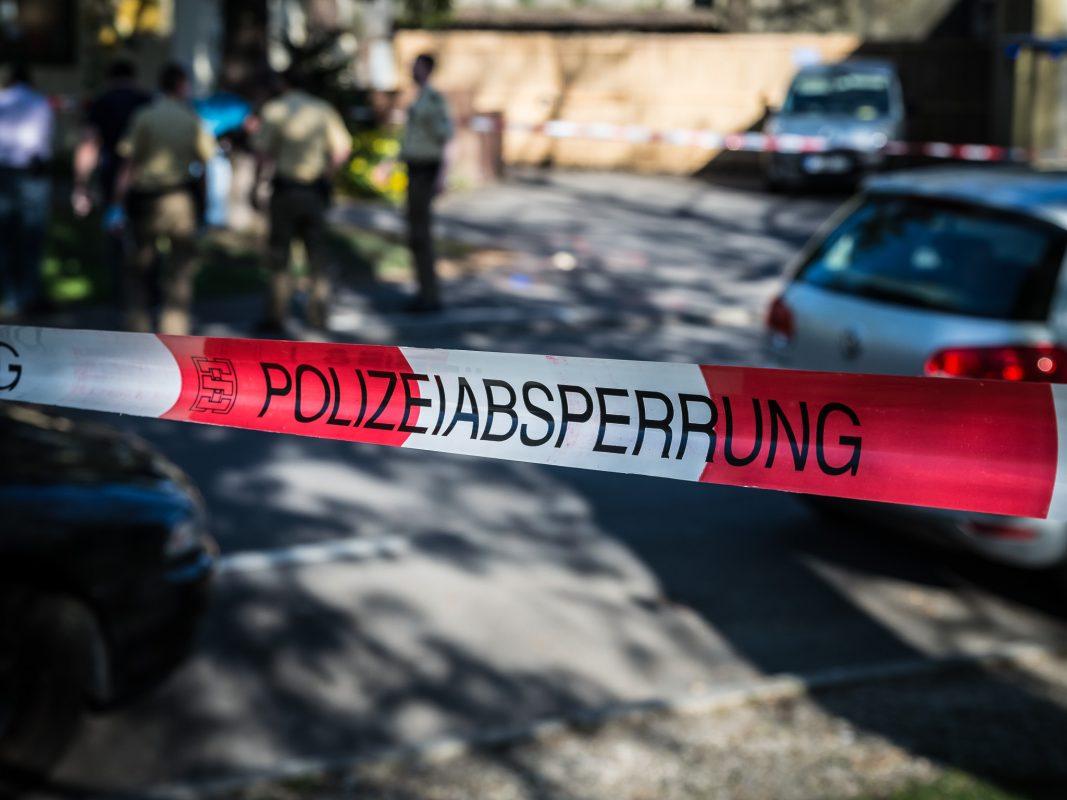 Polizeiabsperrung. Symbolfoto: Pascal Höfig