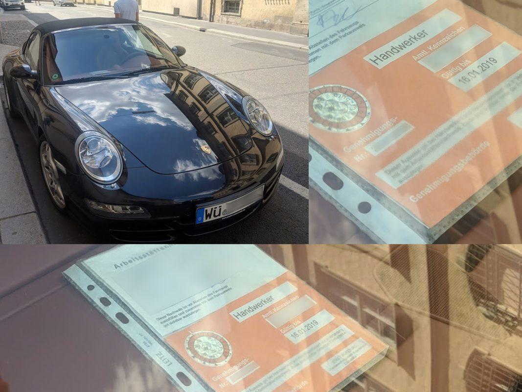 Porschefahrer. Foto: H. And Werker