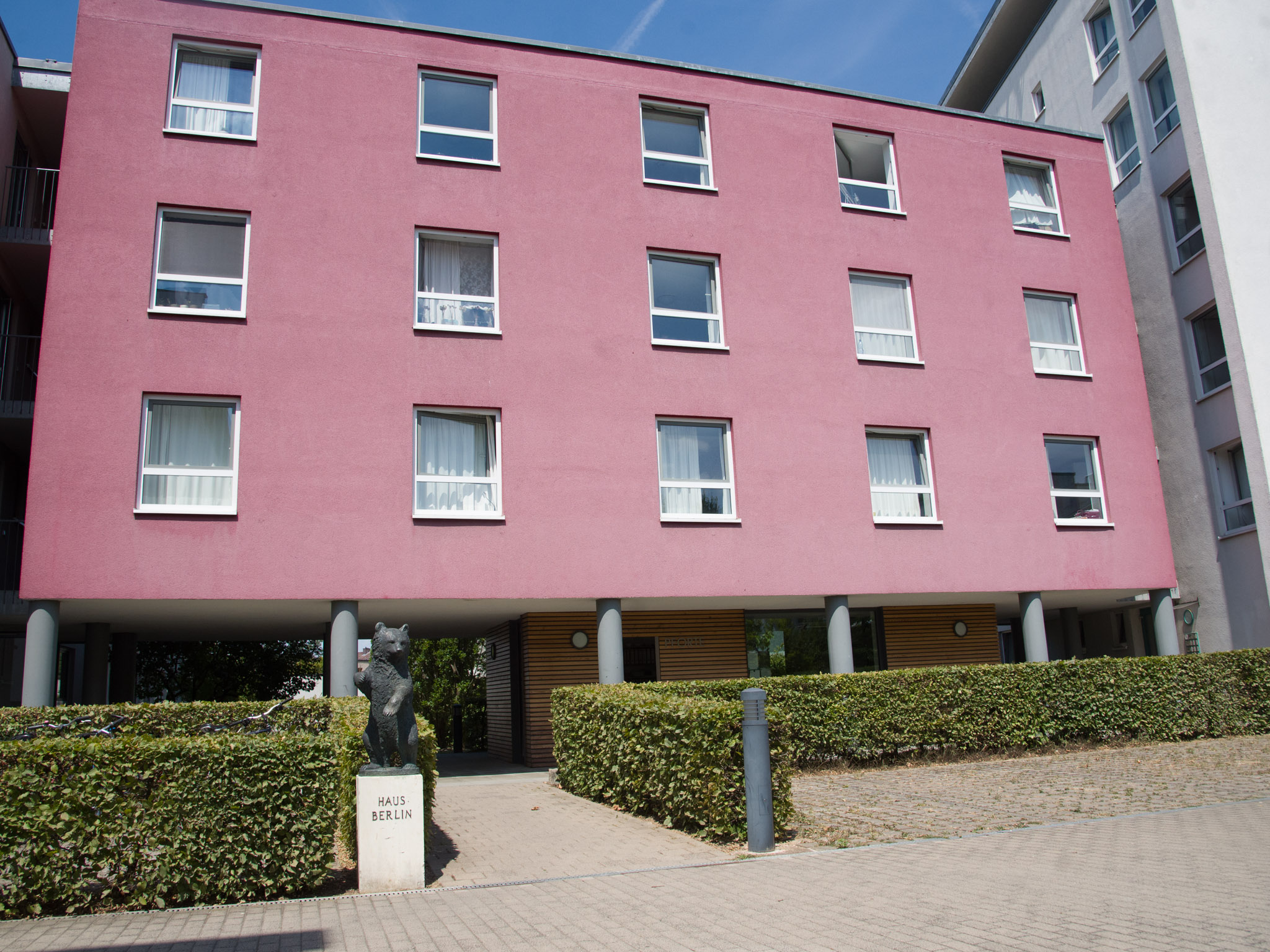 Studentenwohnheim Haus Berlin in der Zürnstraße. Foto: Pascal Höfig