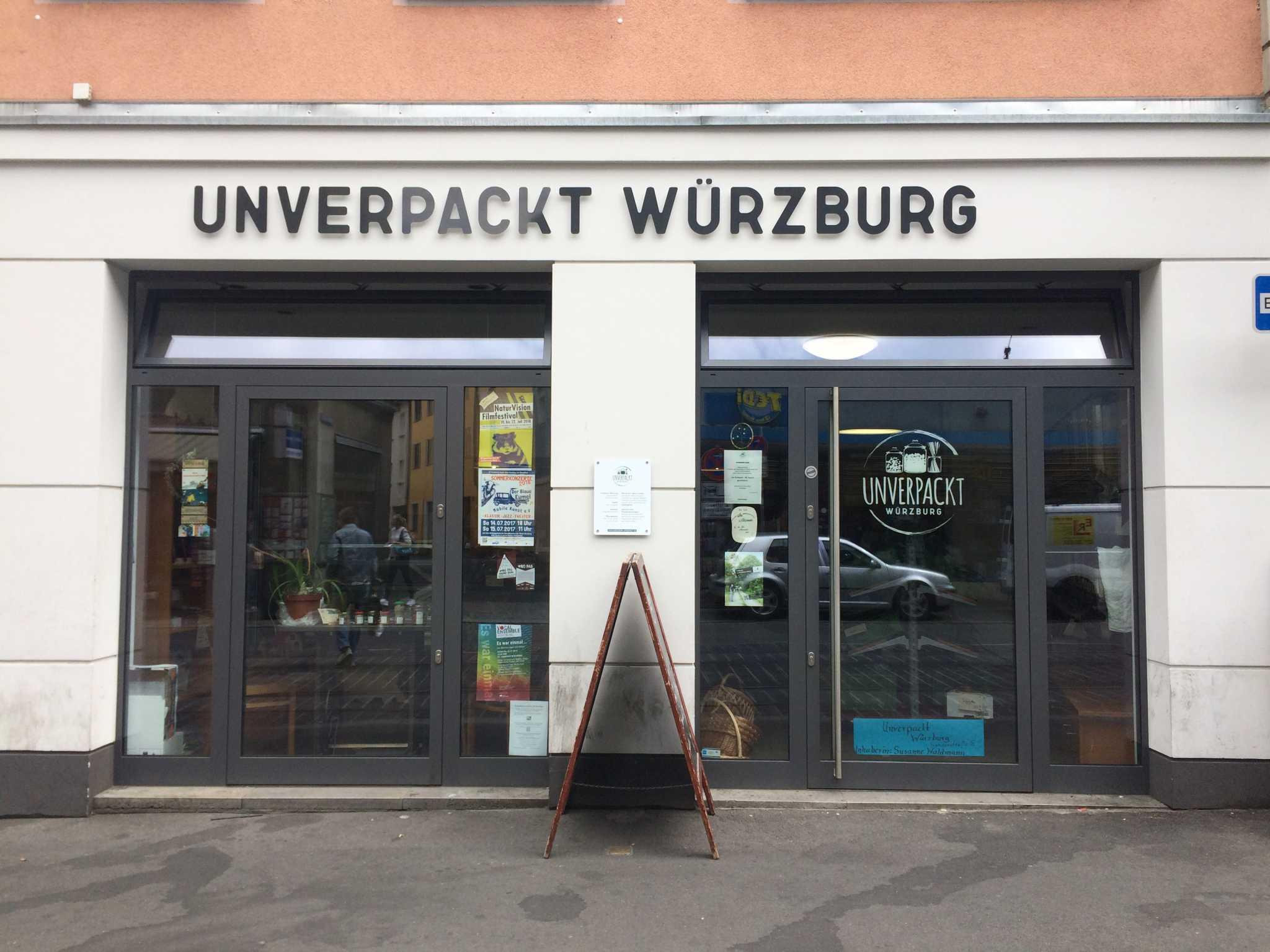 Unverpackt Würzburg. Foto: Nina Härtle