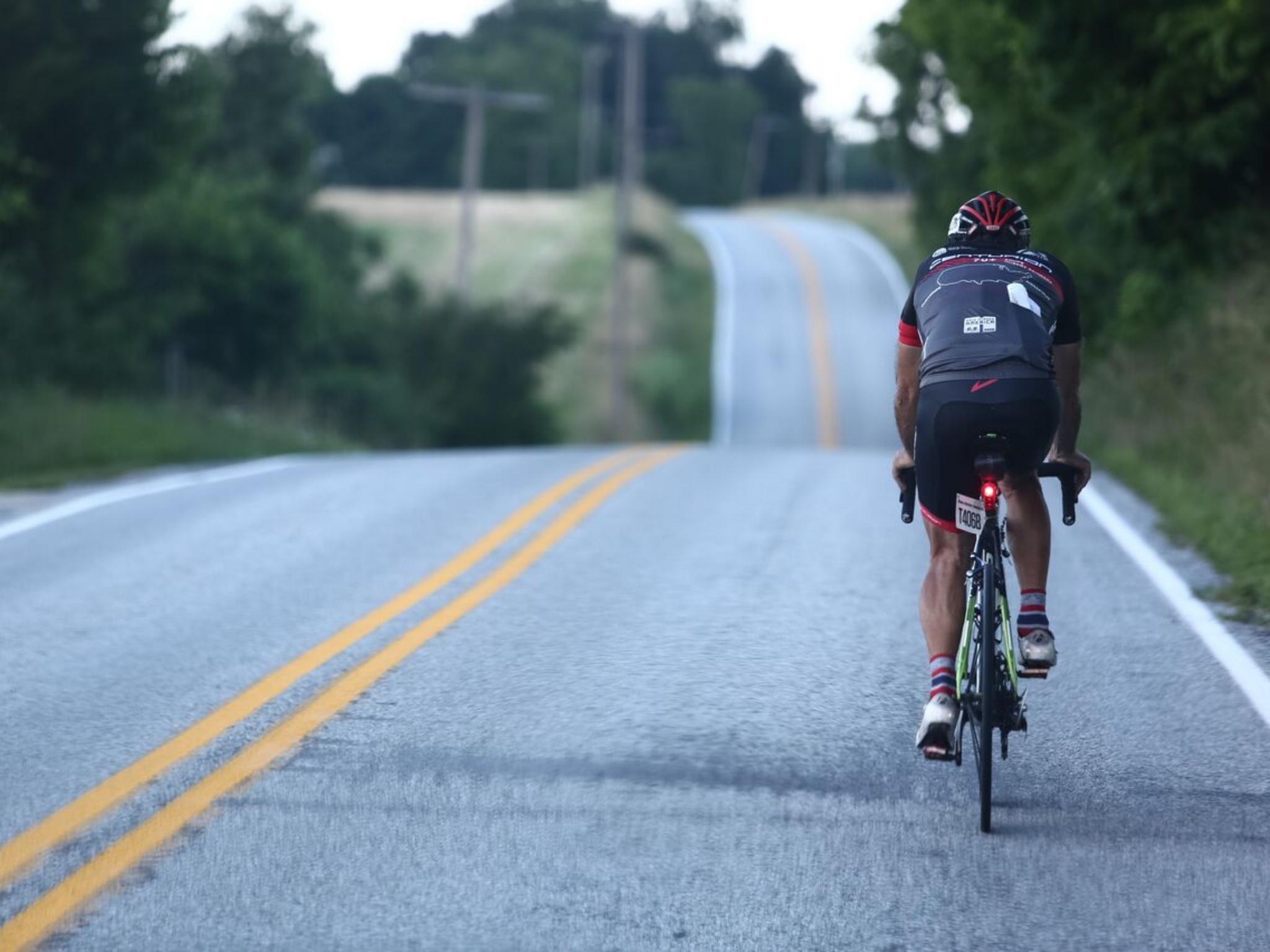 Mit dem Fahrrad durch die Vereinigten Staaten beim RaceAcrossAmerica. Quelle: Hupp Photography