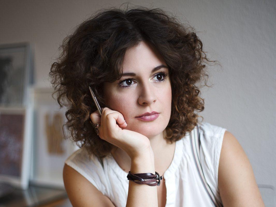 Autorin Johanna Juni. Foto: Svea Landschoof