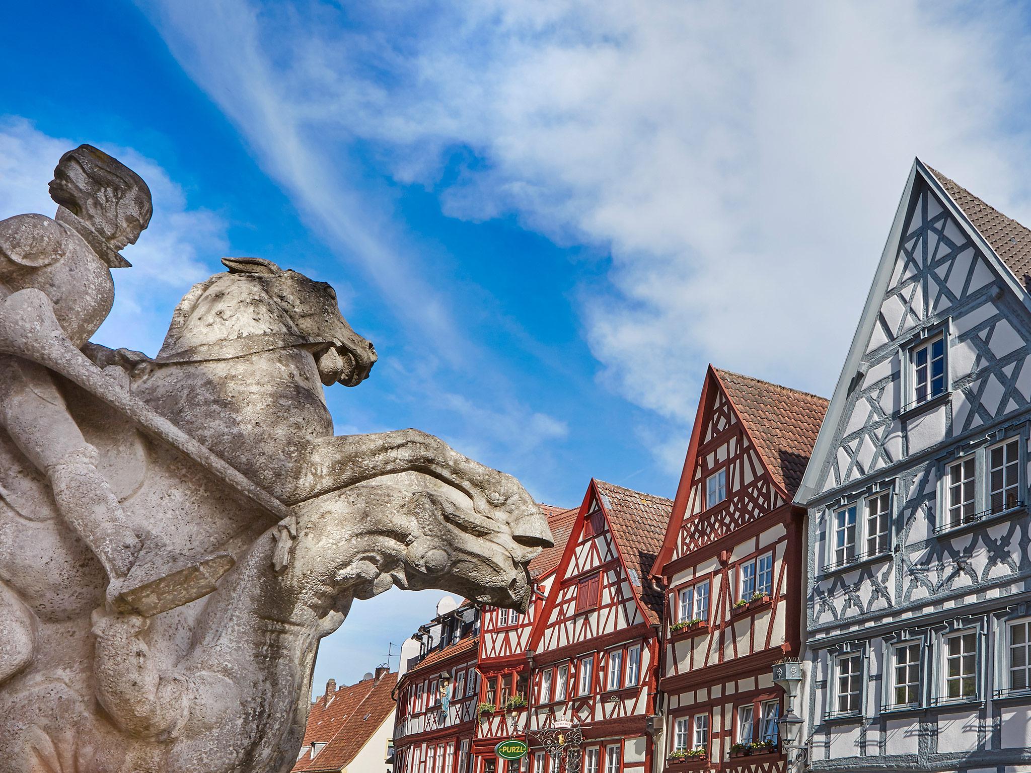 Wunderschöne Ecken in der Region. Foto: Stadt Ochsenfurt
