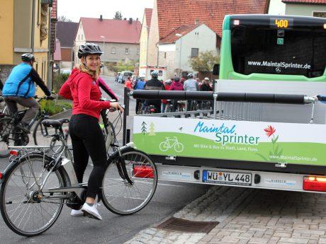 Wie wär's mit einer Radtour durch die Region? Foto: Kommunalunternehmen des Landkreises Würzburg