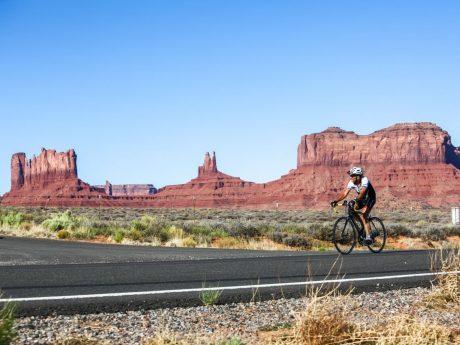 Auf der fahrt durch das Monument Valley. Quelle: Hupp Photography
