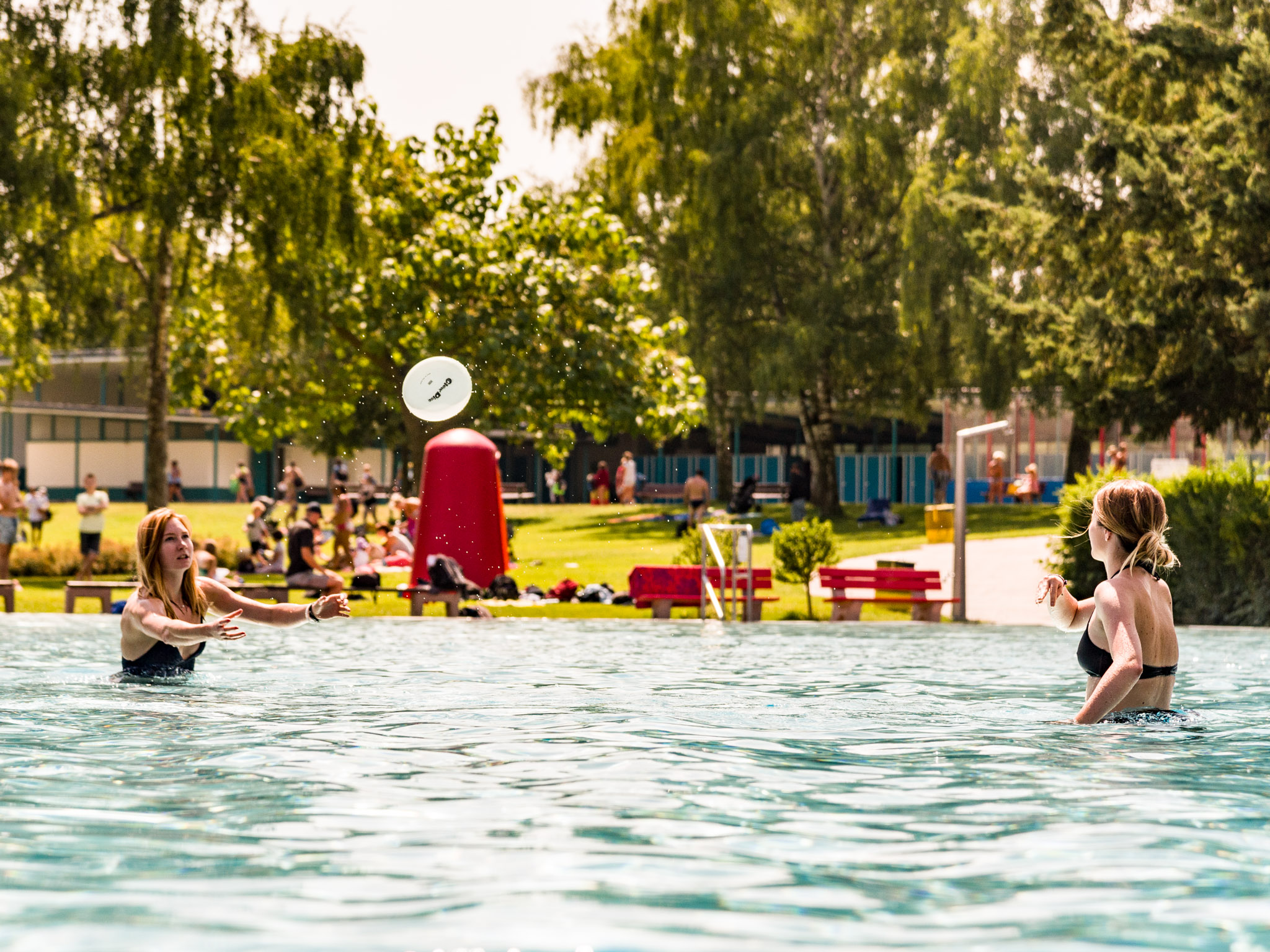 Entspannt den Sommer genießen! Foto: Pascal Höfig