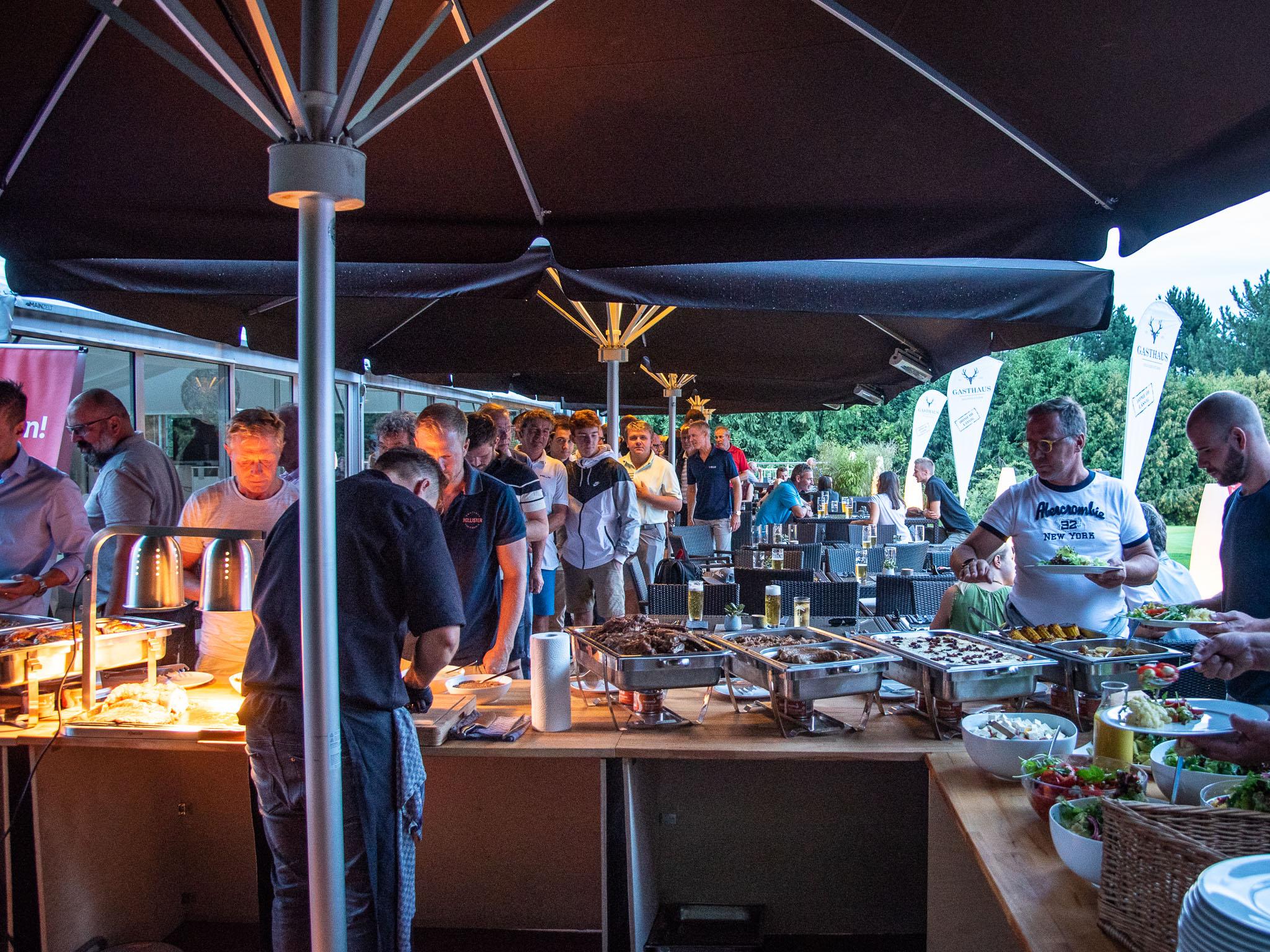 Leckeres BBQ zum Abschluss. Foto: Pascal Höfig