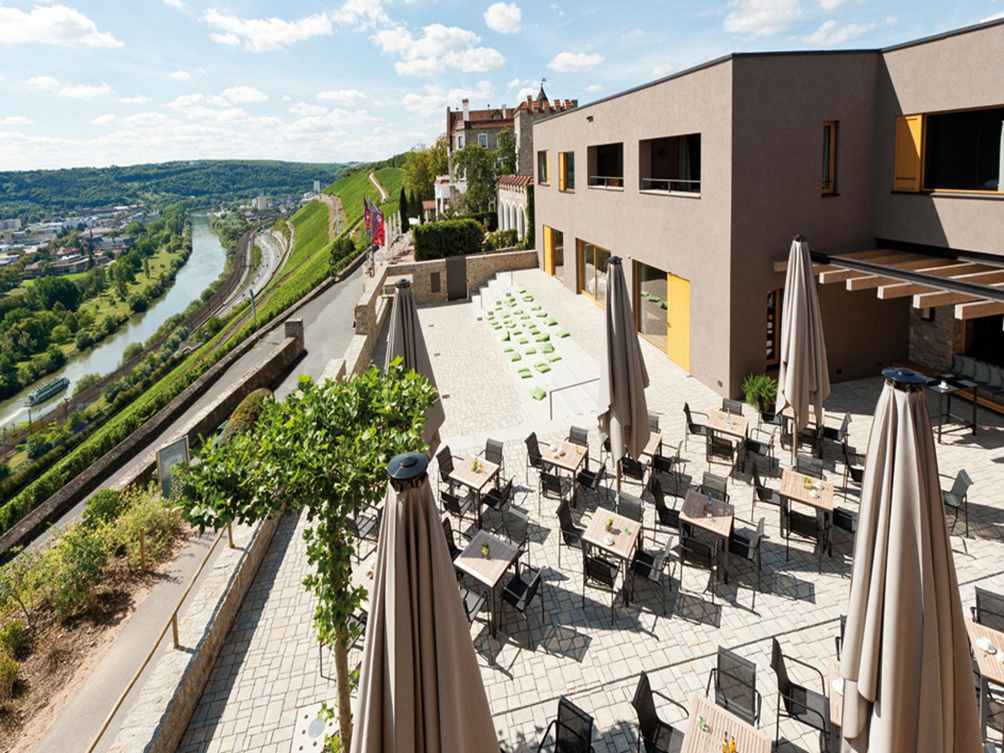 Mit dem Refugium ist die Steinburg eines der besten Tagungshotels Deutschlands. Foto: Schloss Steinburg