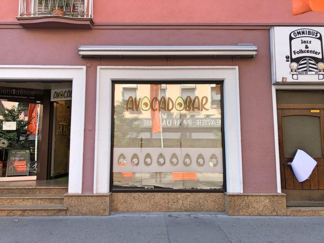 Avocado Bar wird neu in der Theaterstraße eröffnet. Foto: Sarah Willer