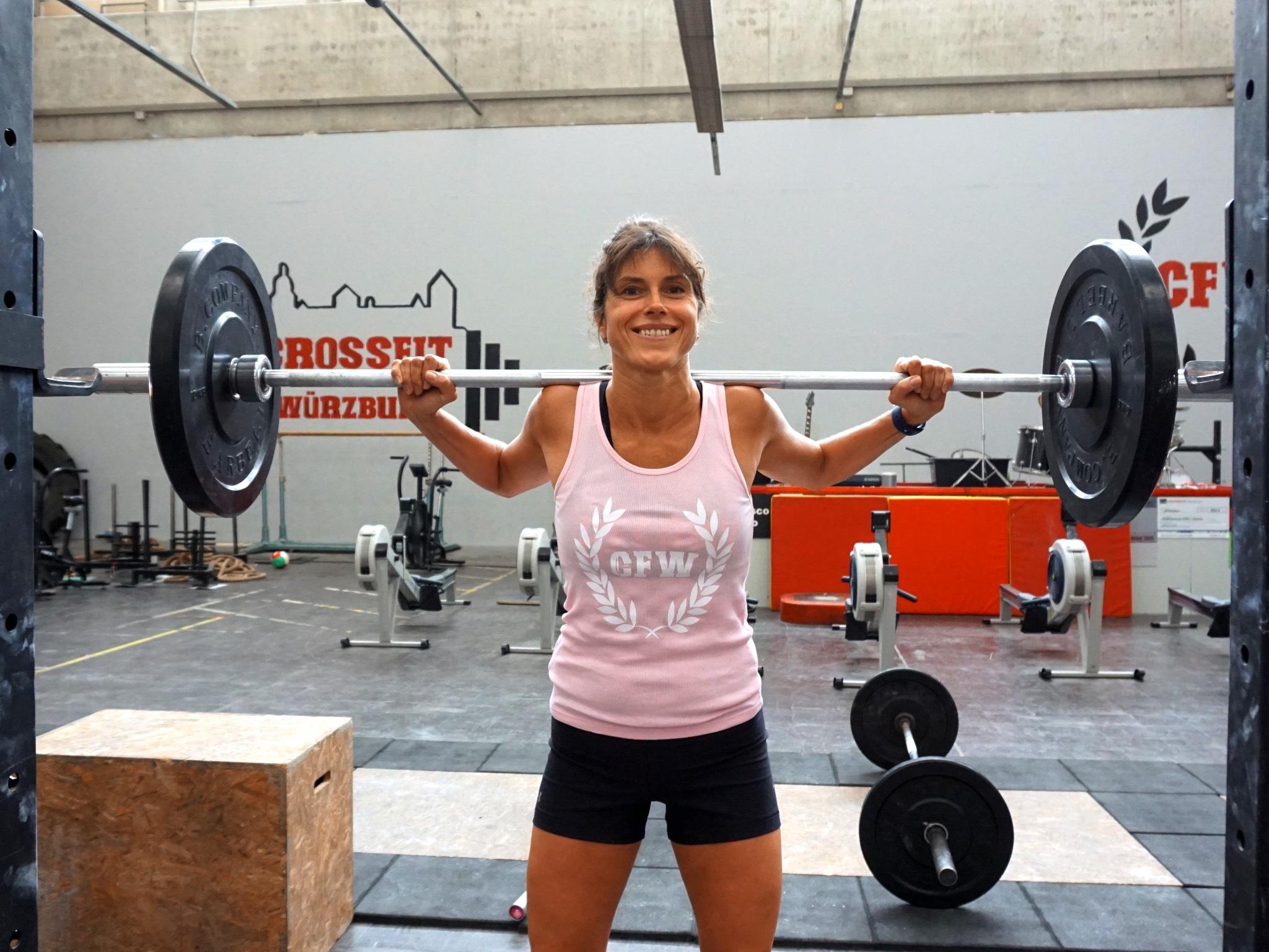 Marianna fühlt sich fitter denn je. Foto: Inka