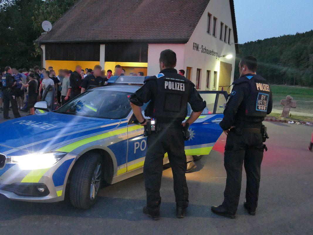 Großeinsatz für die Polizei. Foto: NEWS5
