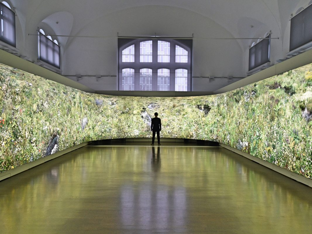 Hiroyuki Masuyama sprengt Raum & Zeit. Foto: Hiroyuki Masuyama