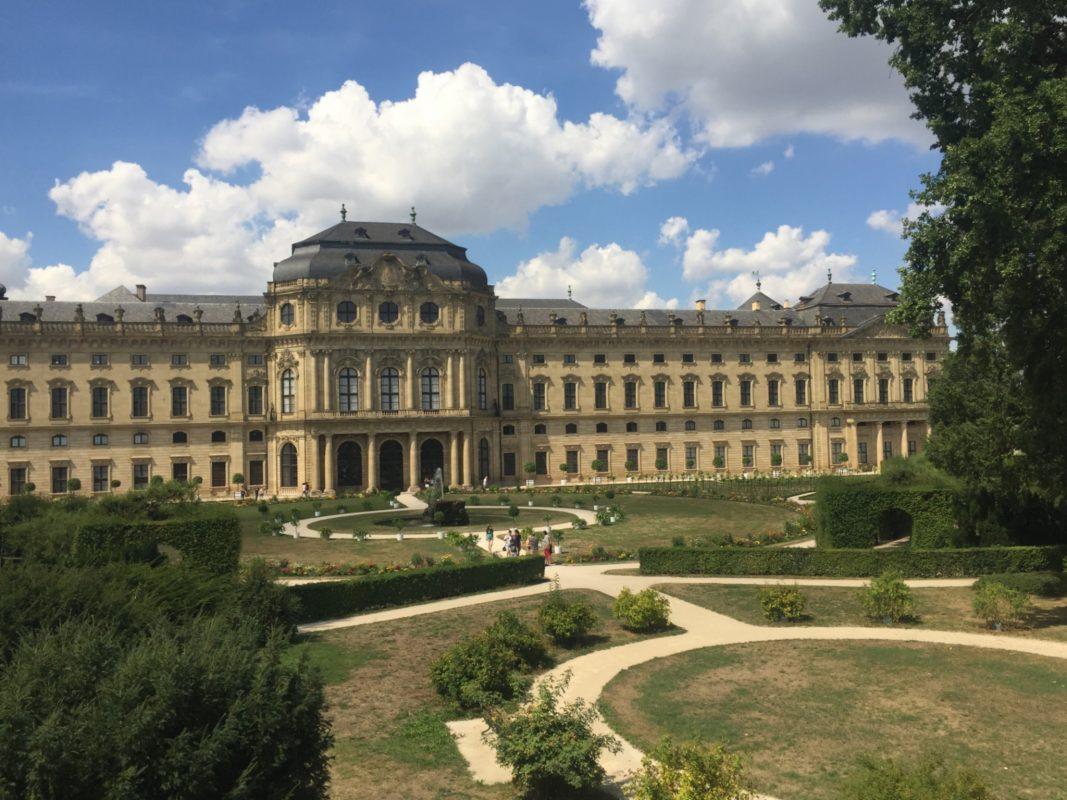 Hofgarten in Würzburg. Symbolfoto: Katharina Kraus