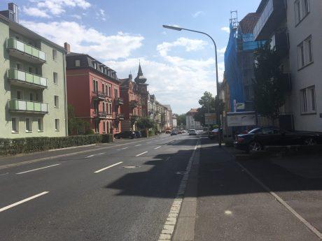 Die Leistenstraße in Würzburg. Foto: Pascal Höfig