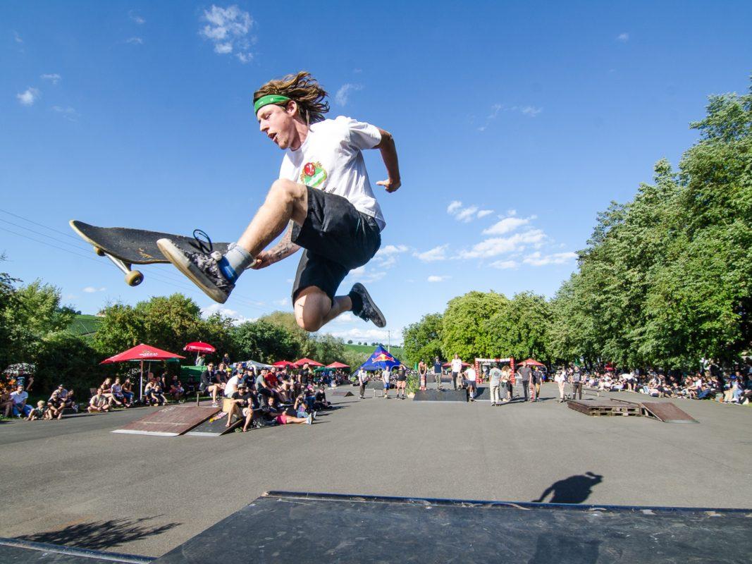 Skate 'n ' Rock ConFest in Nordheim. Foto: Julian Ankenbrand