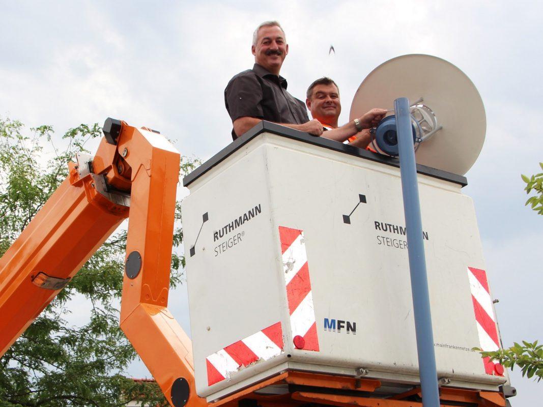 Neue LED-Beleuchtungen für Rottendorf. Foto: WVV