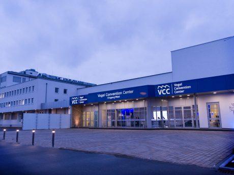 Das Vogel Convention Center (VCC) in Würzburg. Foto: Pascal Höfig