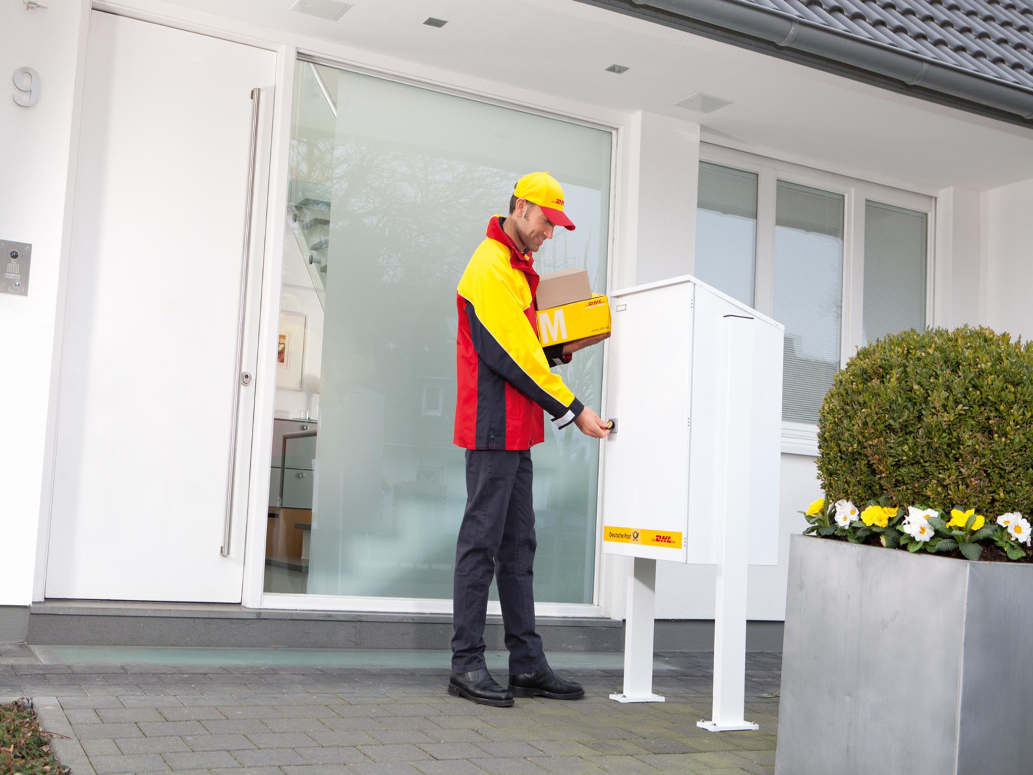Als Paketzusteller ist man den ganzen Tag an der frischen Luft. Foto: Deutsche Post AG
