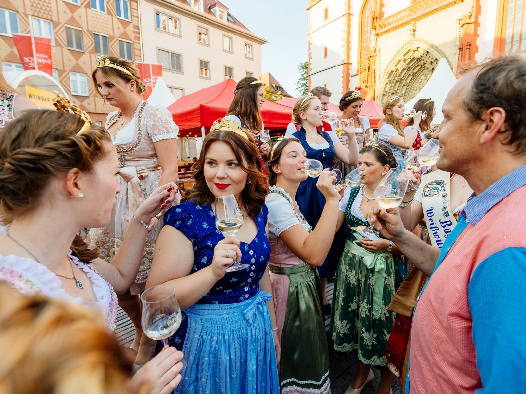 Das letzte Weinfest der Saison, die Weinparade Würzburg. Foto: Weinparade Würzburg