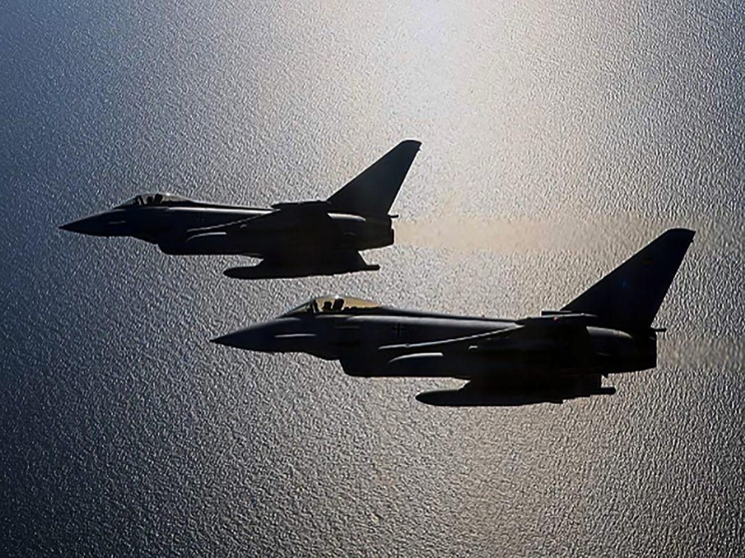 Zwei Eurofighter. Foto: Luftwaffe