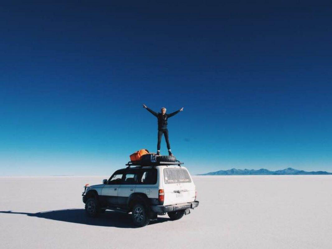 Der Salar de Uyuni, die größte Salzpfanne der Erde. Foto: privat