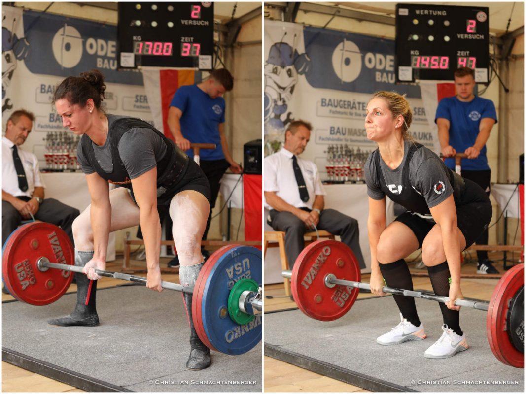 Valérie von Gleichen (links) und Eva Grosser. Fotos: Christian Schmachtenberger