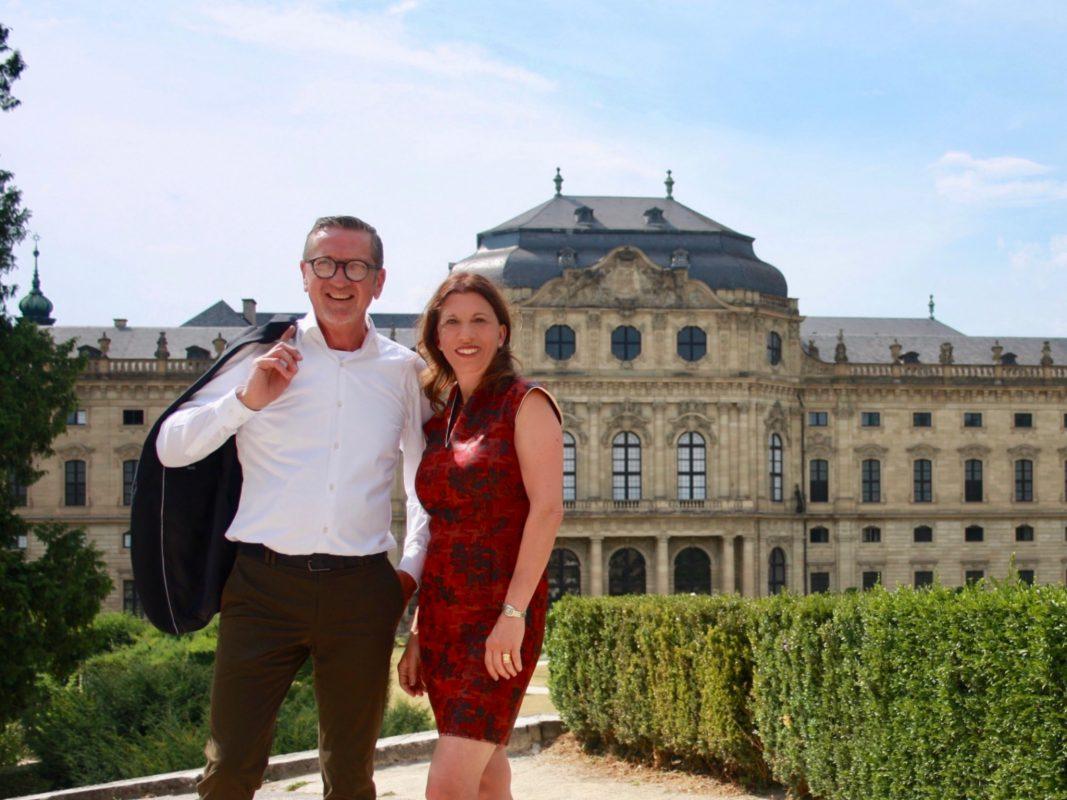 Wolfram Fischer und Astrid Schenkel für die FDP. Foto: FDP Würzburg-Stadt