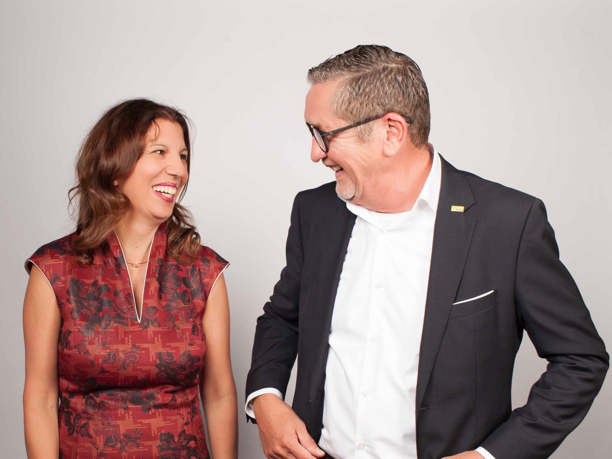 Die Würzburger Wolfram Fischer und Dr. Astrid Schenkel. Foto: FDP Würzburg-Stadt