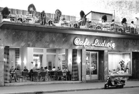 Cafe Ludwig im Jahr 1953. Foto: Club Ludwig