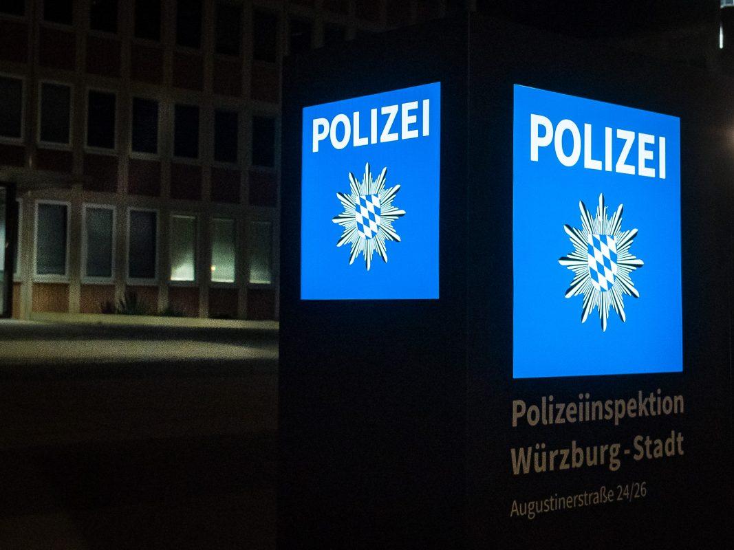 Polizei Würzburg-Stadt. Symbolfoto: Pascal Höfig