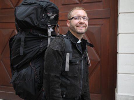 Prieser mit vollem Gepäck. Foto: Markus Hauck