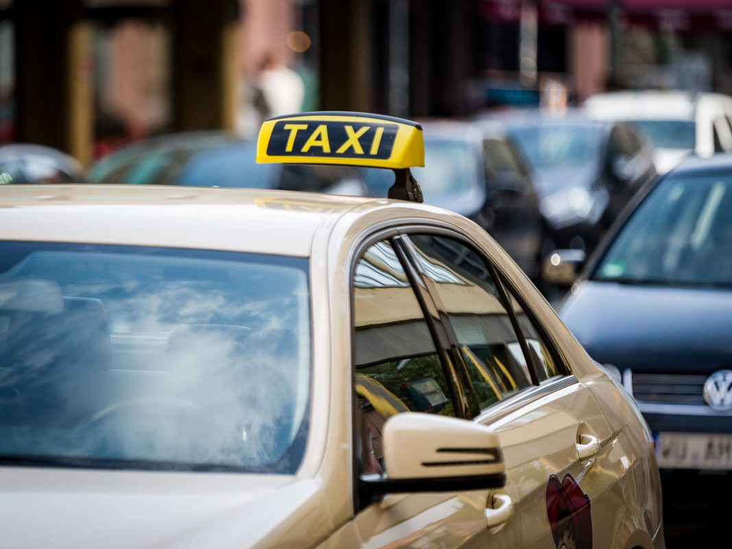 Taxi. Foto: Pascal Höfig