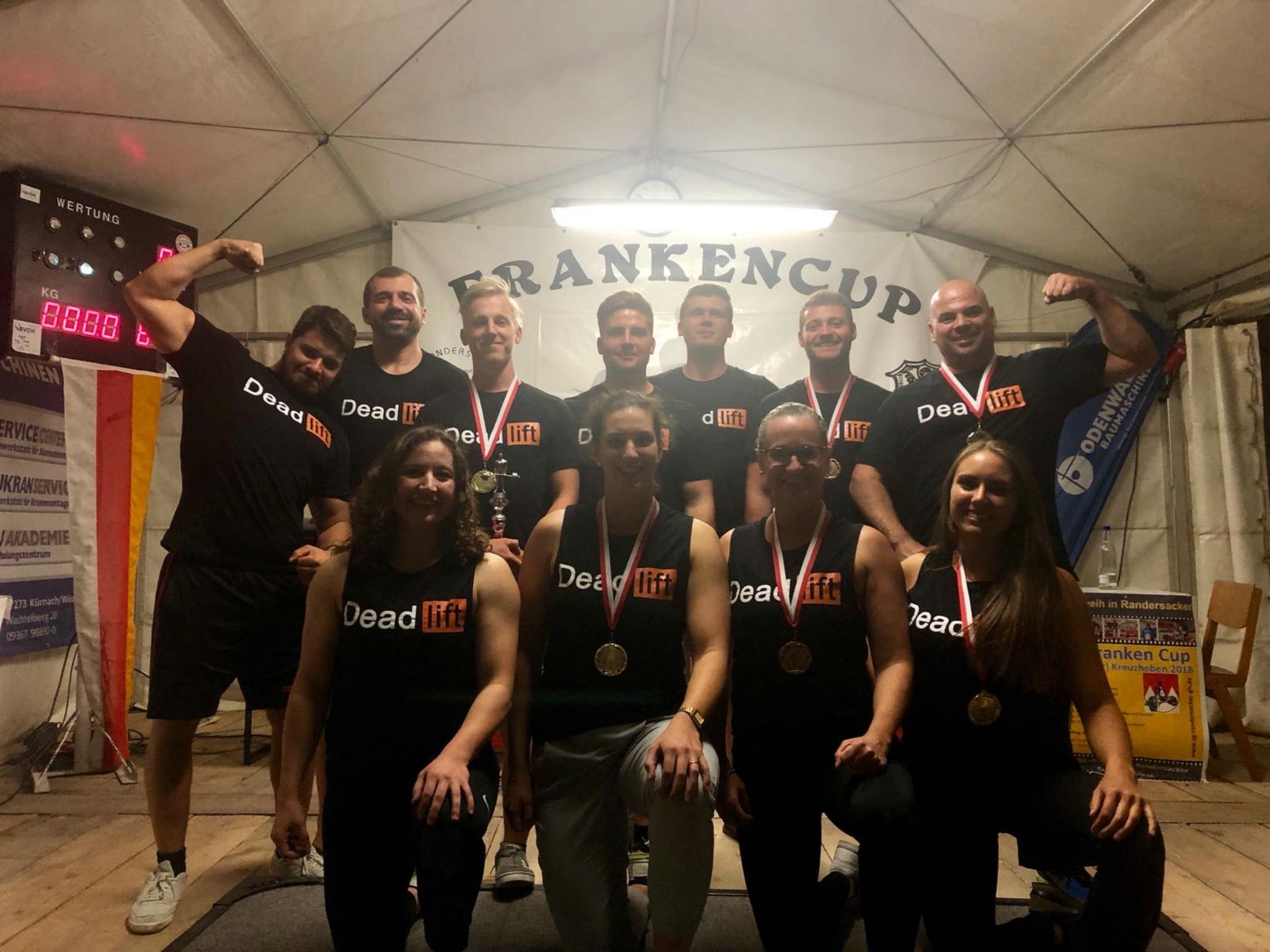 Das Team von Powerlifting Würzburg e.V. Foto: Christian Schmachtenberger