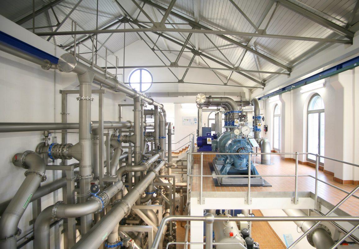 Das Wasserversorgungswerk Mergentheim. Foto: WVV