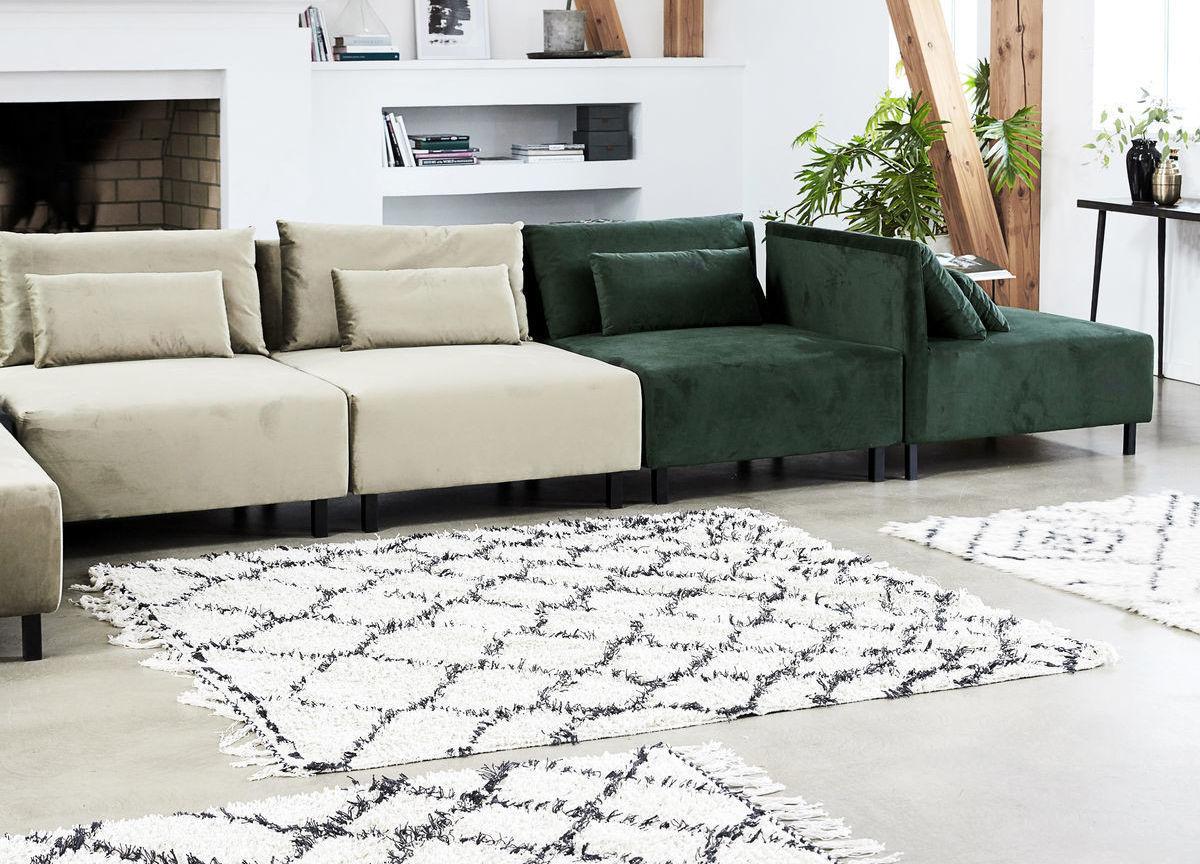 Teppiche schaffen im Handumdrehen einen neuen Look. Foto: einrichten design