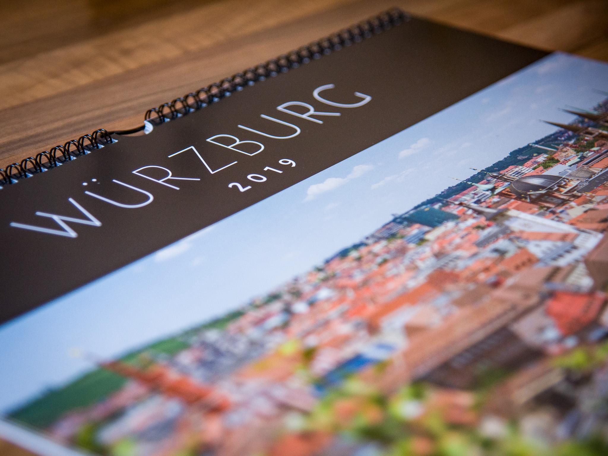 Der Würzburg Kalender 2019. Foto: Pascal Höfig