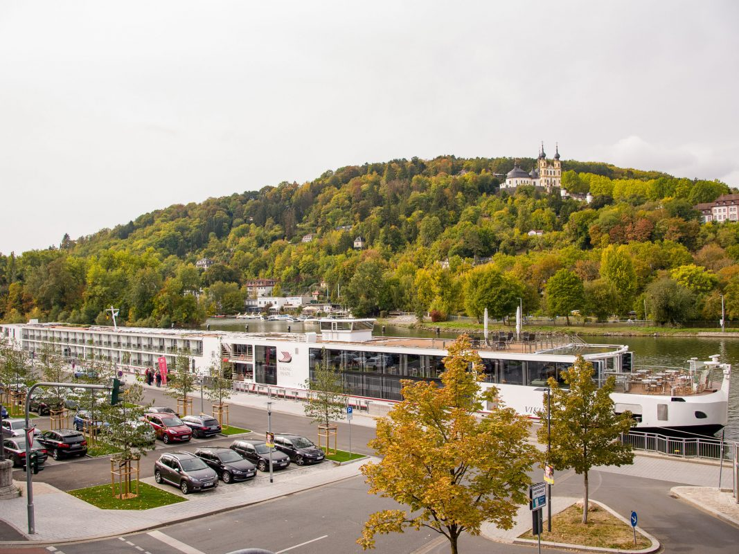 Das 10.000ste Flusskreuzfahrtschiff in Würzburg. Foto: Pascal Höfig
