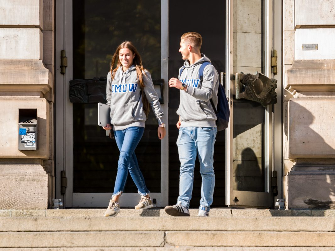Studieren in Würzburg. Foto: Pascal Höfig