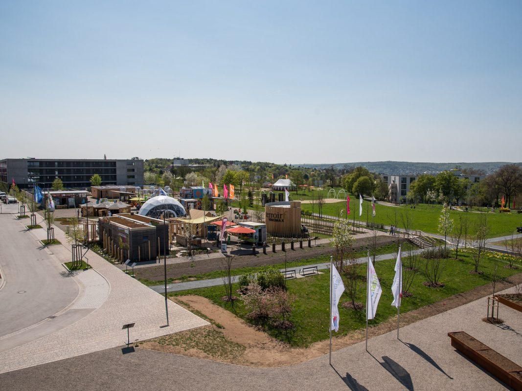 Landesgartenschaugelände am Hubland. Foto: Pascal Höfig