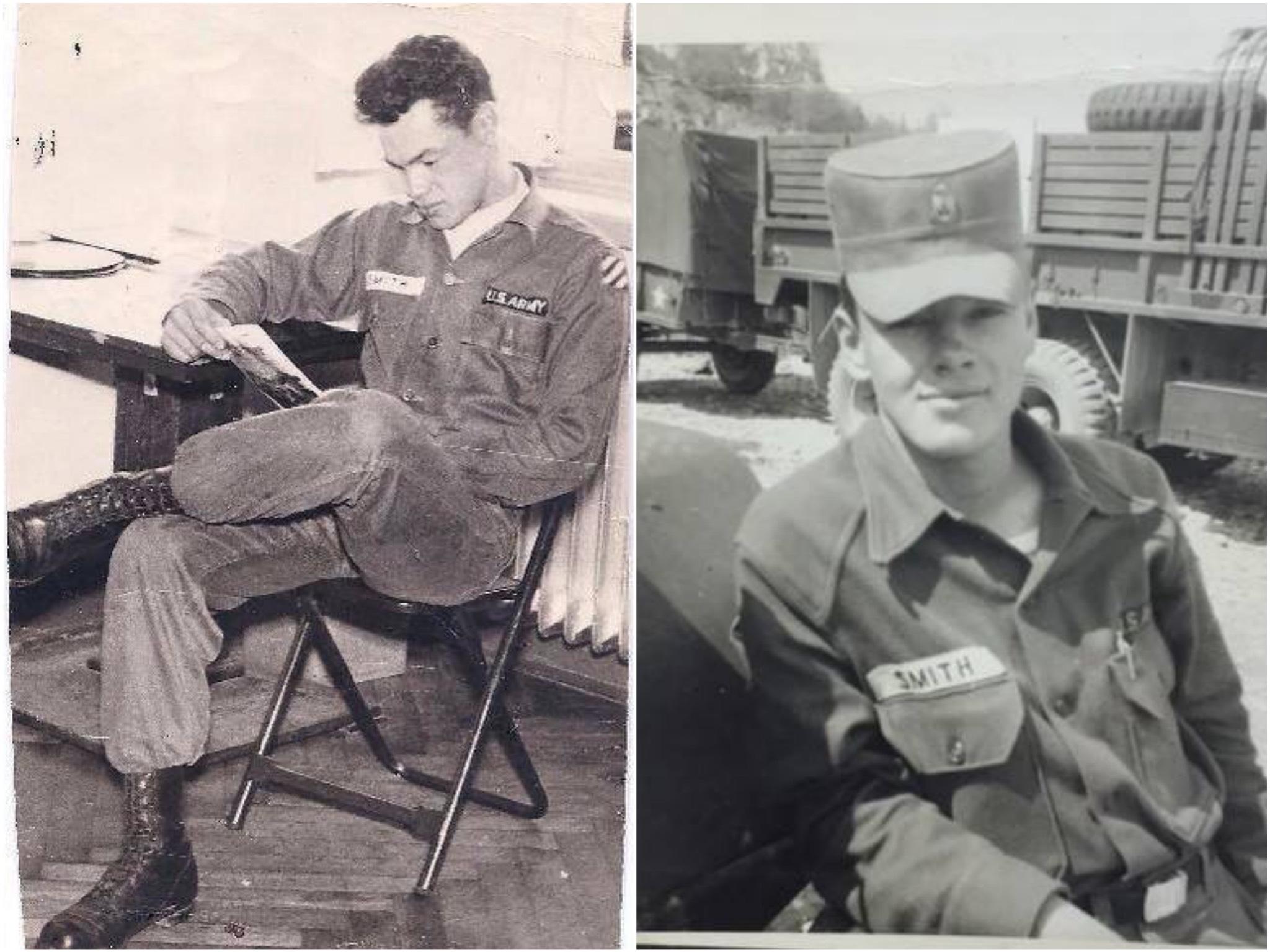 Walter Smith während seiner Zeit bei der US Army. Foto: Heidi Orton