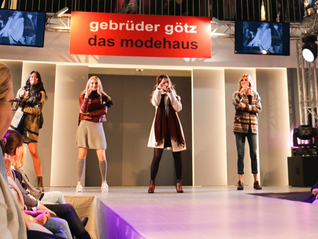 Herbsttrends live bei der Fashion Show. Foto: Modehaus Gebrüder Götz