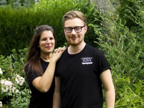 Tobi und Sabrin haben mit ihren Gewürzen an der RTL Show