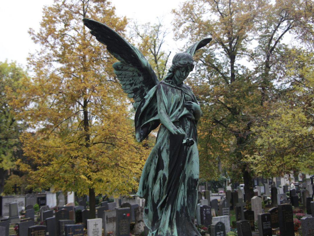 Der Hauptfriedhof in Würzburg. Foto: Markus Hauck, POW.