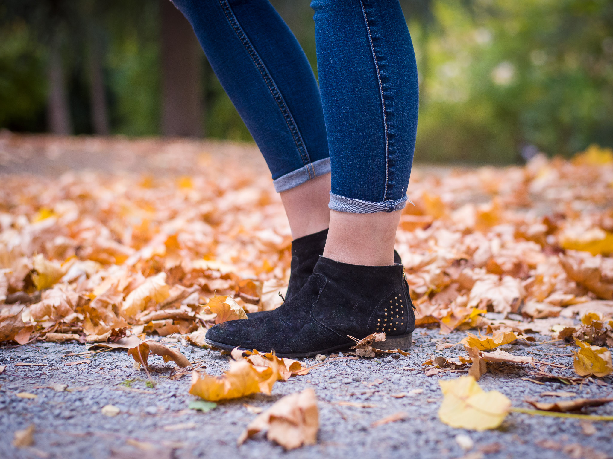 Knöchel frei im Herbst. Foto: Pascal Höfig