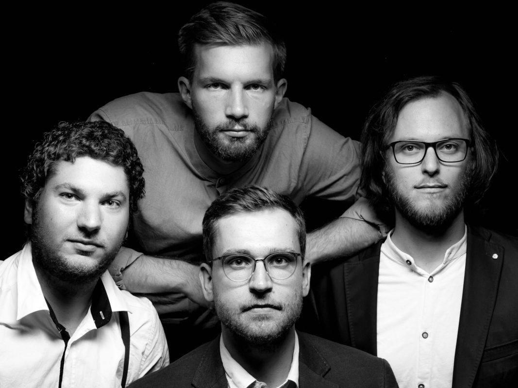 Kleeberg, die vierköpfige Band aus Würzburg. Foto: Michael Pietschmann
