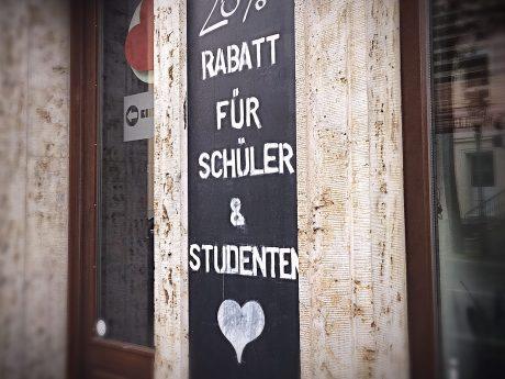 Studentenrabatt. Symbolfoto: Pascal Höfig