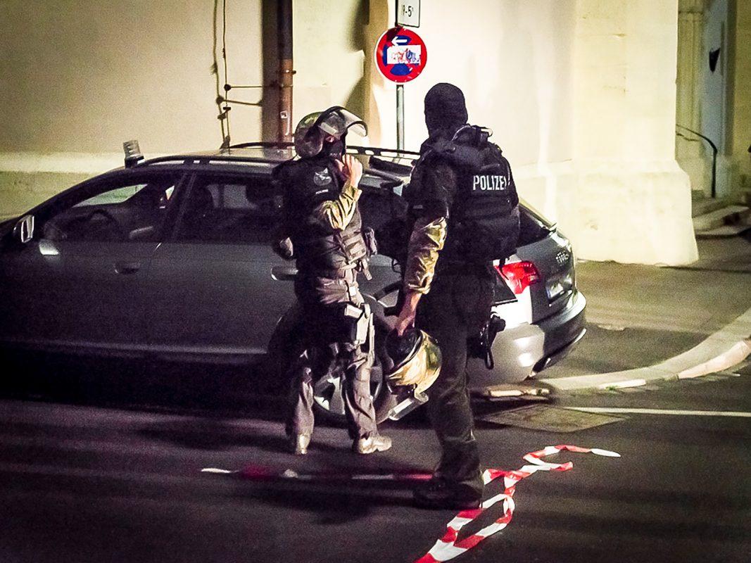 Beamte des Spezialeinsatzkommandos (SEK) Symbolfoto: Pascal Höfig