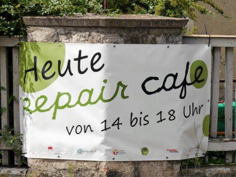 Plakat vom RepairCafé