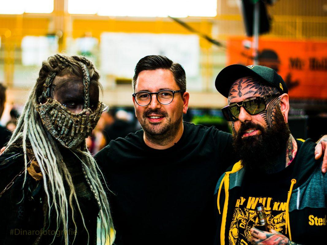 Auf der Tattoo & Art Convention gibt es viel Skurriles zu sehen. Foto: Schweinfurter Tattoo & Art Convention